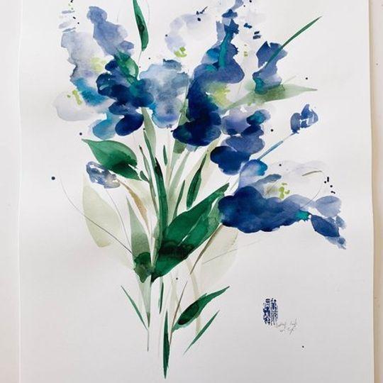 Blue Tulips 2.0