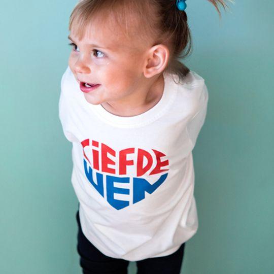 Kids Hempie - Wit - Rooi en Blou