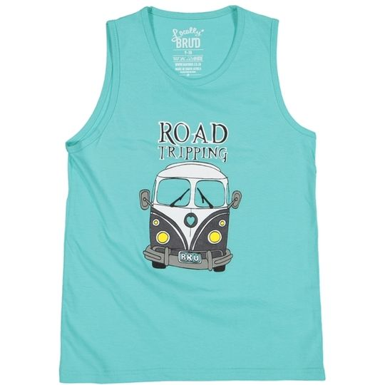 'Road Tripping' Kids Vest