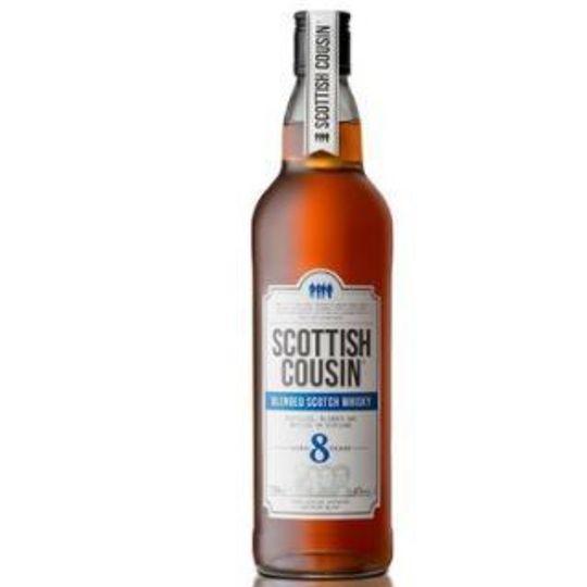 Scottish Cousin Whisky 8YO Case 12