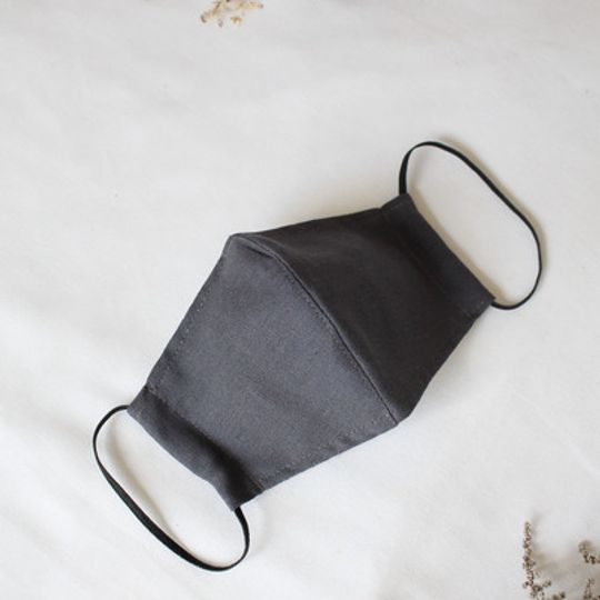 Charcoal Mask with Pocket