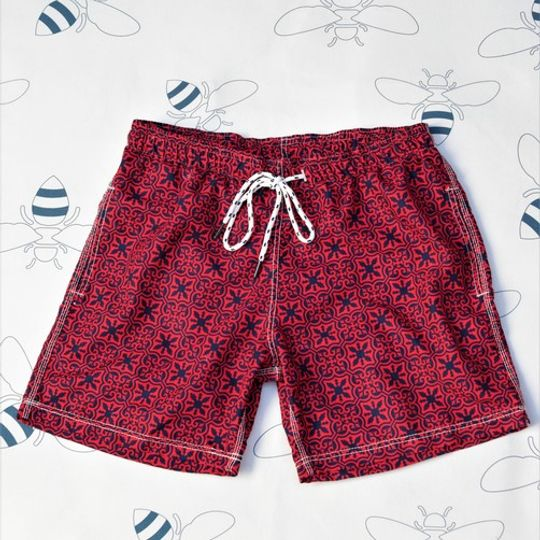 Malta Red Shorts