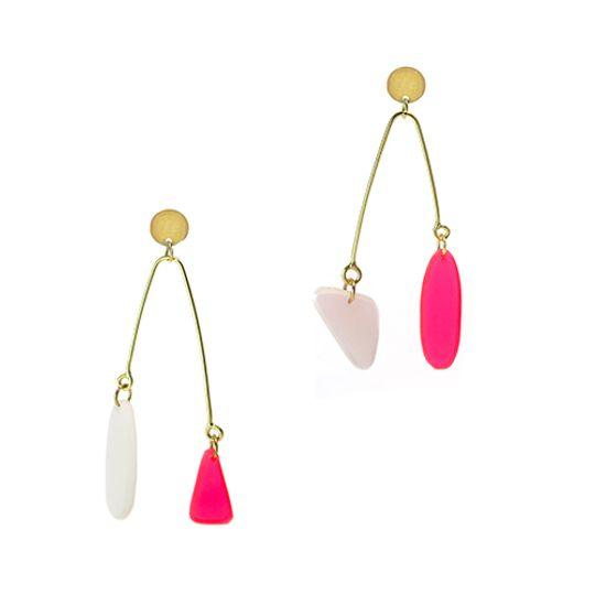 Asymmetrical Mobile Earrings