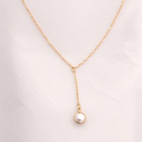The Pearl Drop Necklace