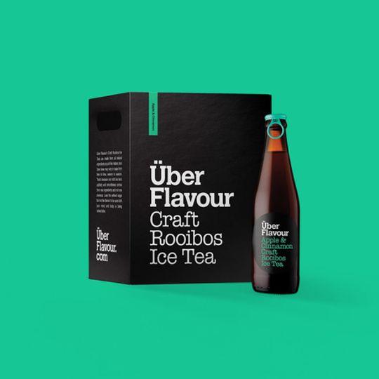 Uber Flavour Rooibos Craft Ice Tea Apple & Cinnamon