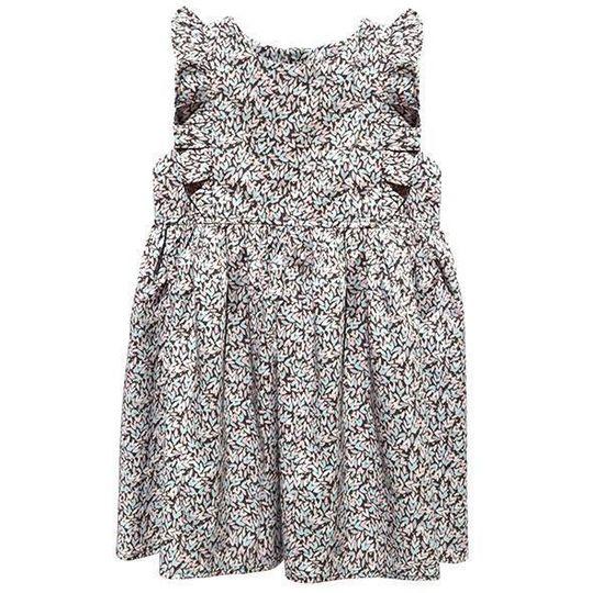 Dress / Girls - Mauve Hearts - M0419