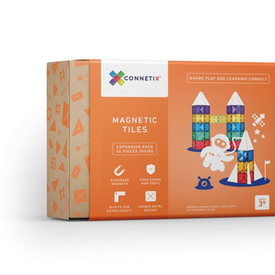 Connetix Tiles 40 pieces
