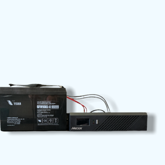 Mecer Inverter 1200 with Extreme Deep Cycle Battery
