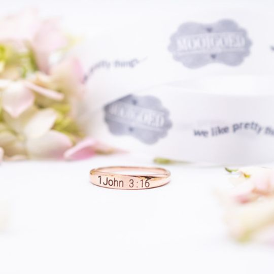Rosegold Rings Stainless Steel