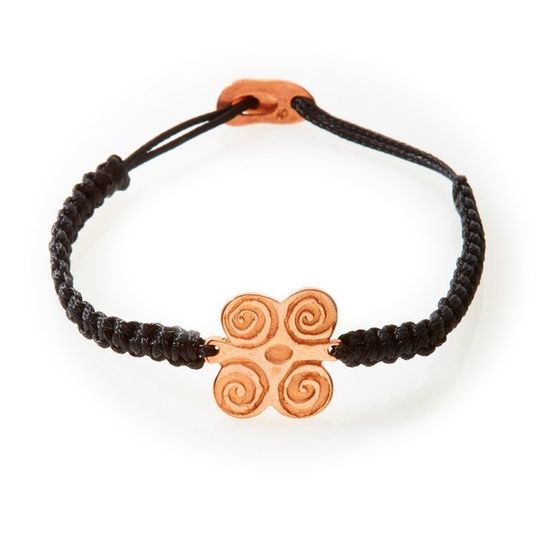 ICON Macrame Bracelet Strength - Black