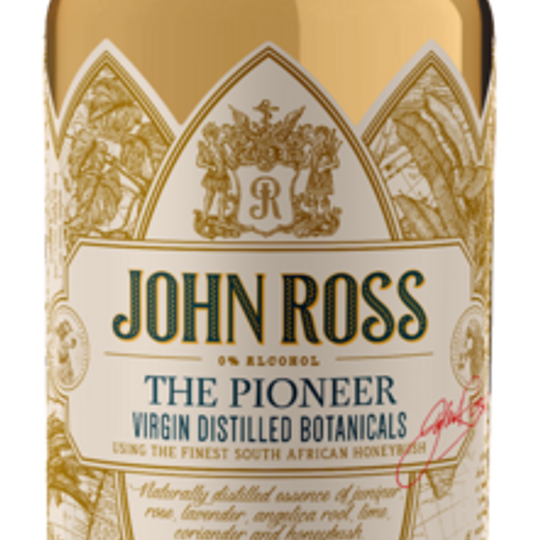 JOHN ROSS VIRGIN DISTILLED BOTANICALS - THE PIONEER 1x 750ml