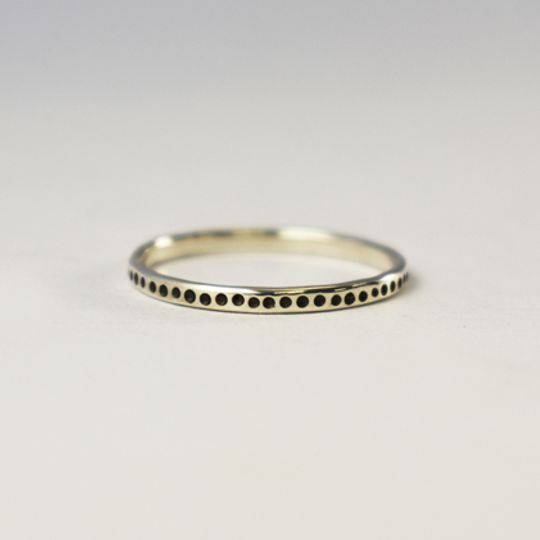 Spotted Urchie Stacking Ring