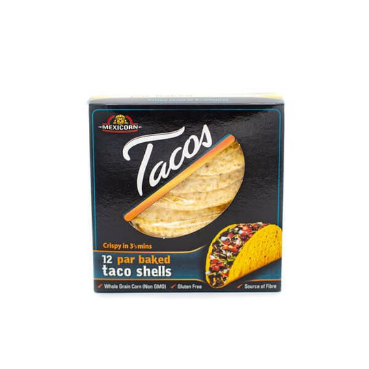 Key 4 Health Mexicorn Taco Shells 12's