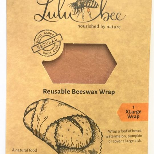 Reusable Beeswax Bread Wrap