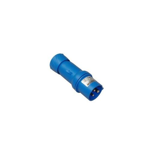 R0000714 - SOCKET MALE 220V CEE R422 BLUE