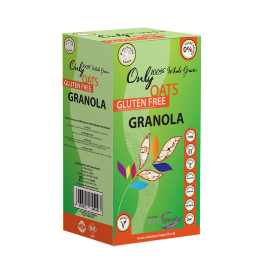Wholesome Earth Gluten Free Granola