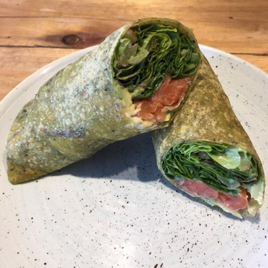 Salmon Trout Wrap