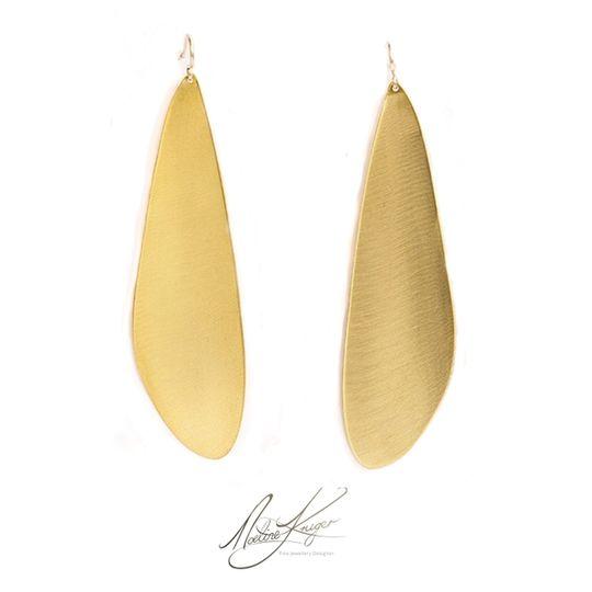 Dragon Fly Brass earrings