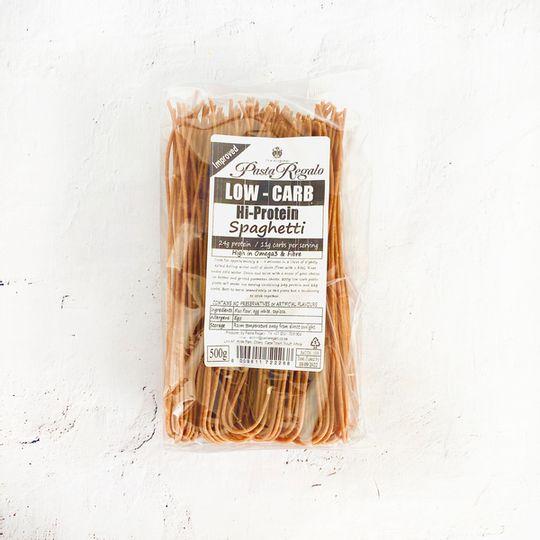 Pasta Regalo Low-Carb,  Hi-Protein Spaghetti pasta (500g)