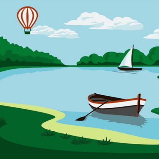 Boats and Balloon
