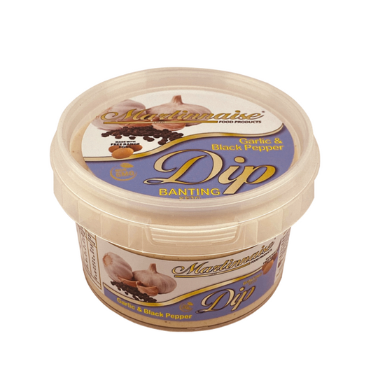 Garlic and Black Pepper Banting Dip 250g