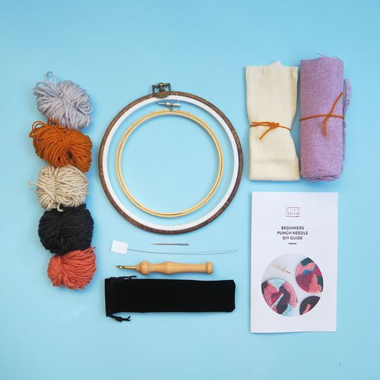 Beginners Punch Needle Kit with Oxford needle