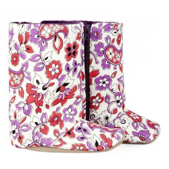 Boots / Girls - Floral Cord - M0159