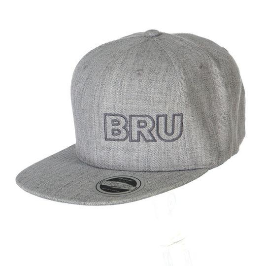 'Bru' Mens Snapback Std Flat Peak