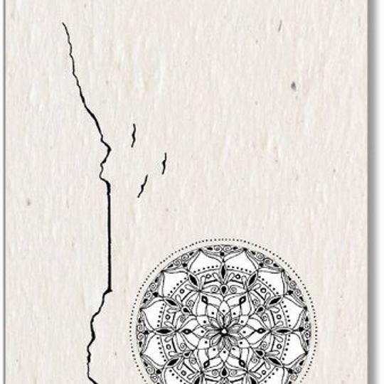 Set of 5 Gift Tags | Mandalas