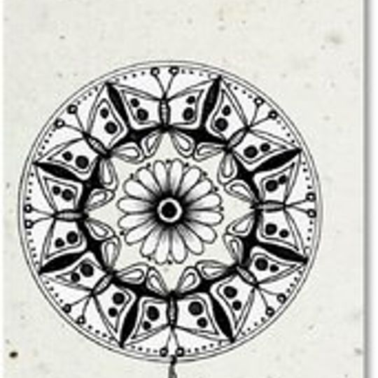 Bookmark | Mandala Balloon