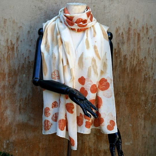 Silk Scarf Autumn