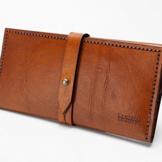 Ladies Wallet - Tan