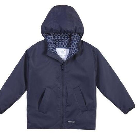 Kiddies Navy Raincoat