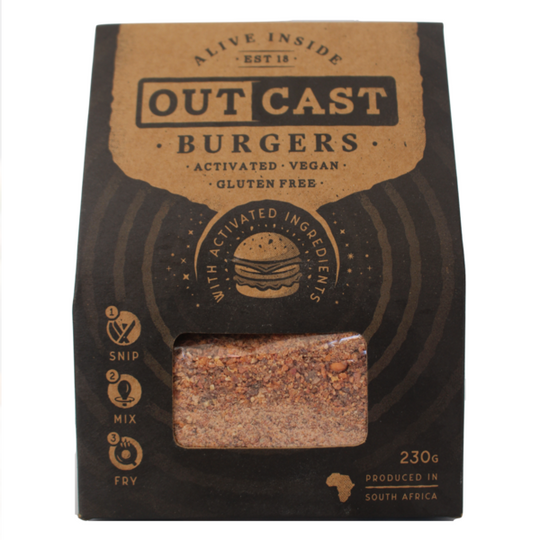Outcast Activated Burger Mix 230g