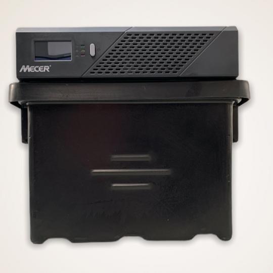 Mecer Inverter 720W, Battery & Plastic Case