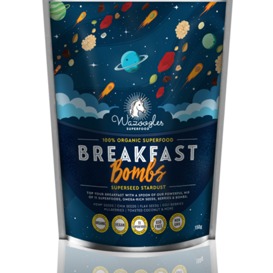 Wazoogles Superfood Breakfast Bombs - Superseed Stardust