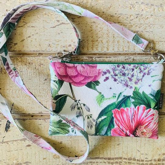 Cross Body Bag - Pretty Pink