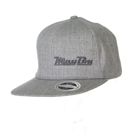 'May Bru' Mens Snapback Flat Peak