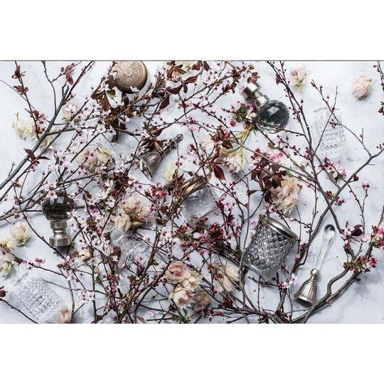 WS Placemats - Blushing Bloom