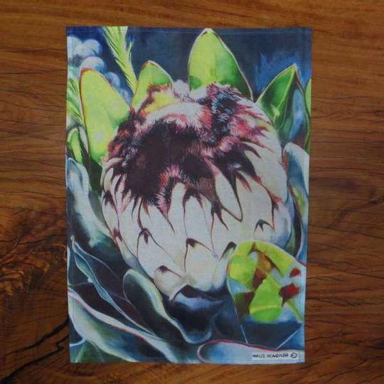 Tea Towel - Protea nerifolia