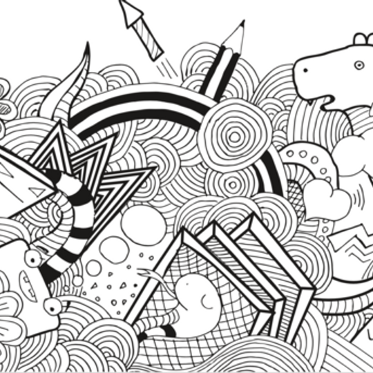 Wacky Wallpaper- Adult Doodlebug