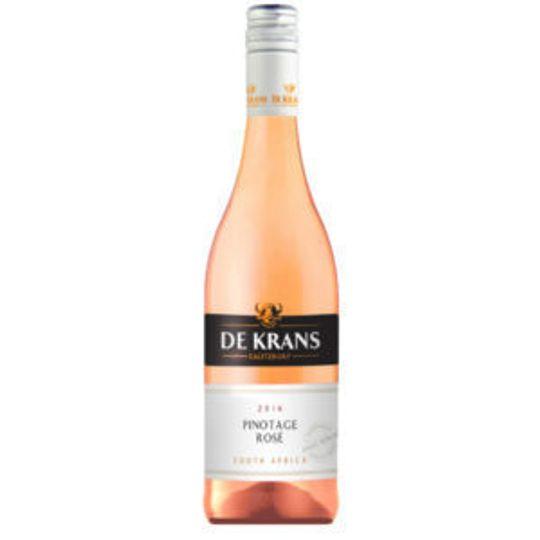 De Krans Pinotage rose (750ml)