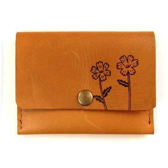Card Holder -  Wild Flowers