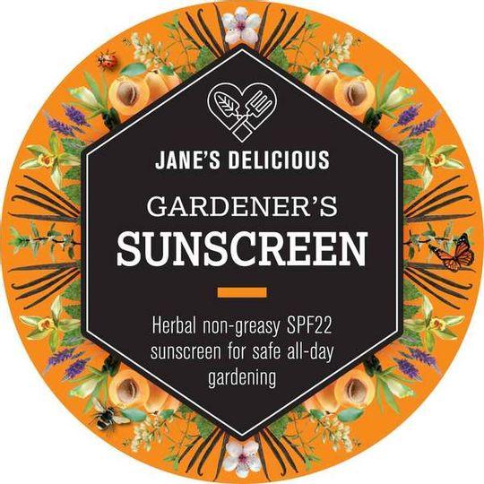 Jane's Delicious Gardener's Sunscreen 100ml