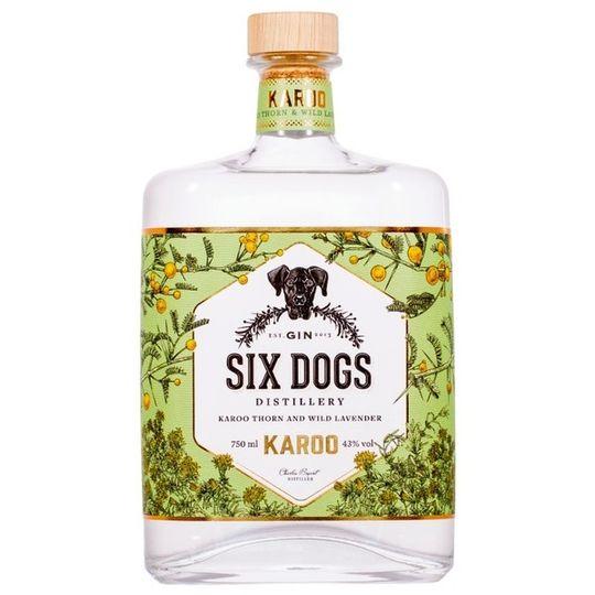 Six Dogs Karoo Gin 750ml
