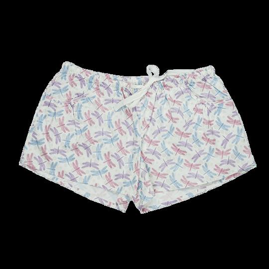 Short Pants - Pockets Dragonfly
