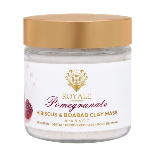 Pomegranate Clay Mask with Hibiscus & Baobab 100ml