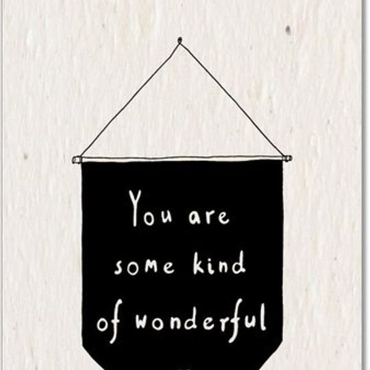 Greeting Card | Wonderful
