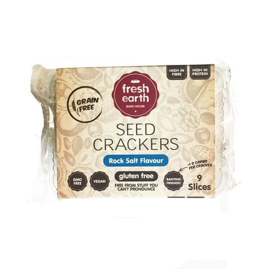 Fresh Earth Seed Cracker Salt