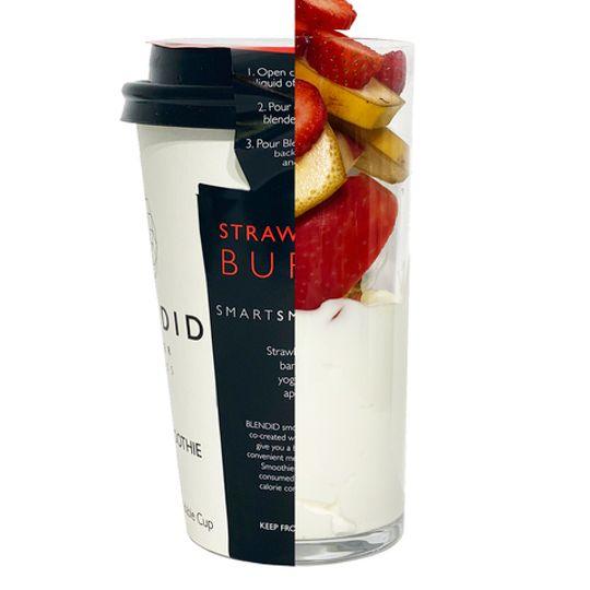 BLENDID  Strawberry Burst Smoothie 350ml